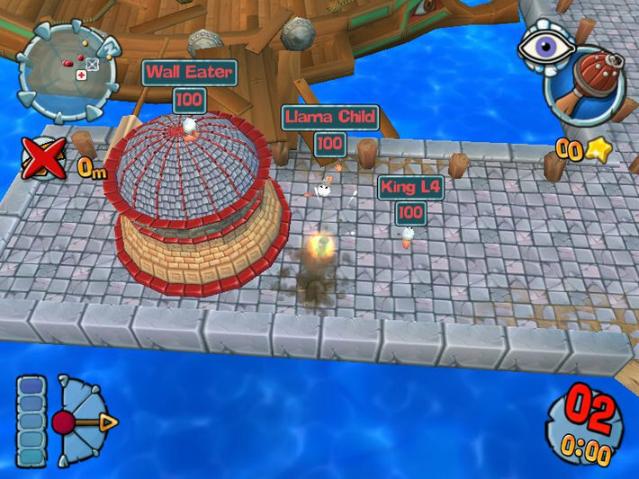 Worms Forts: Under Siege screenshot 2