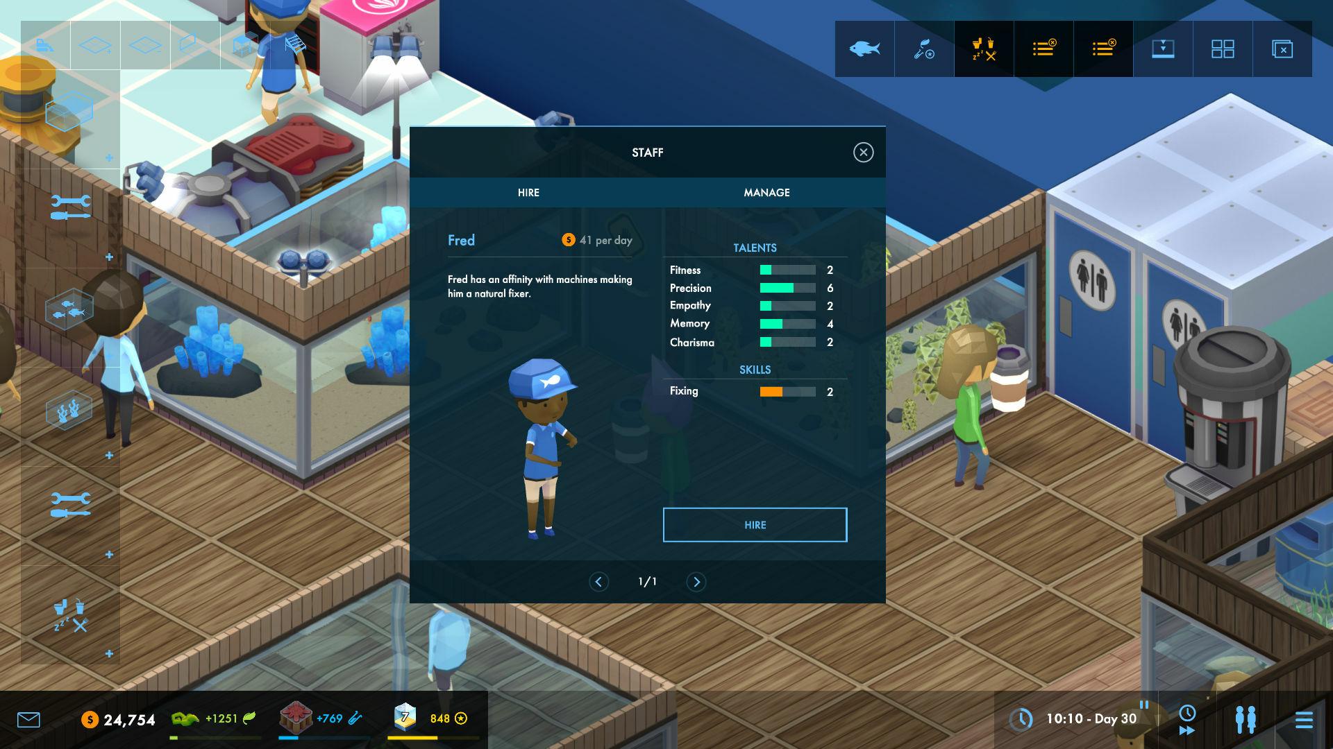 Megaquarium screenshot 2