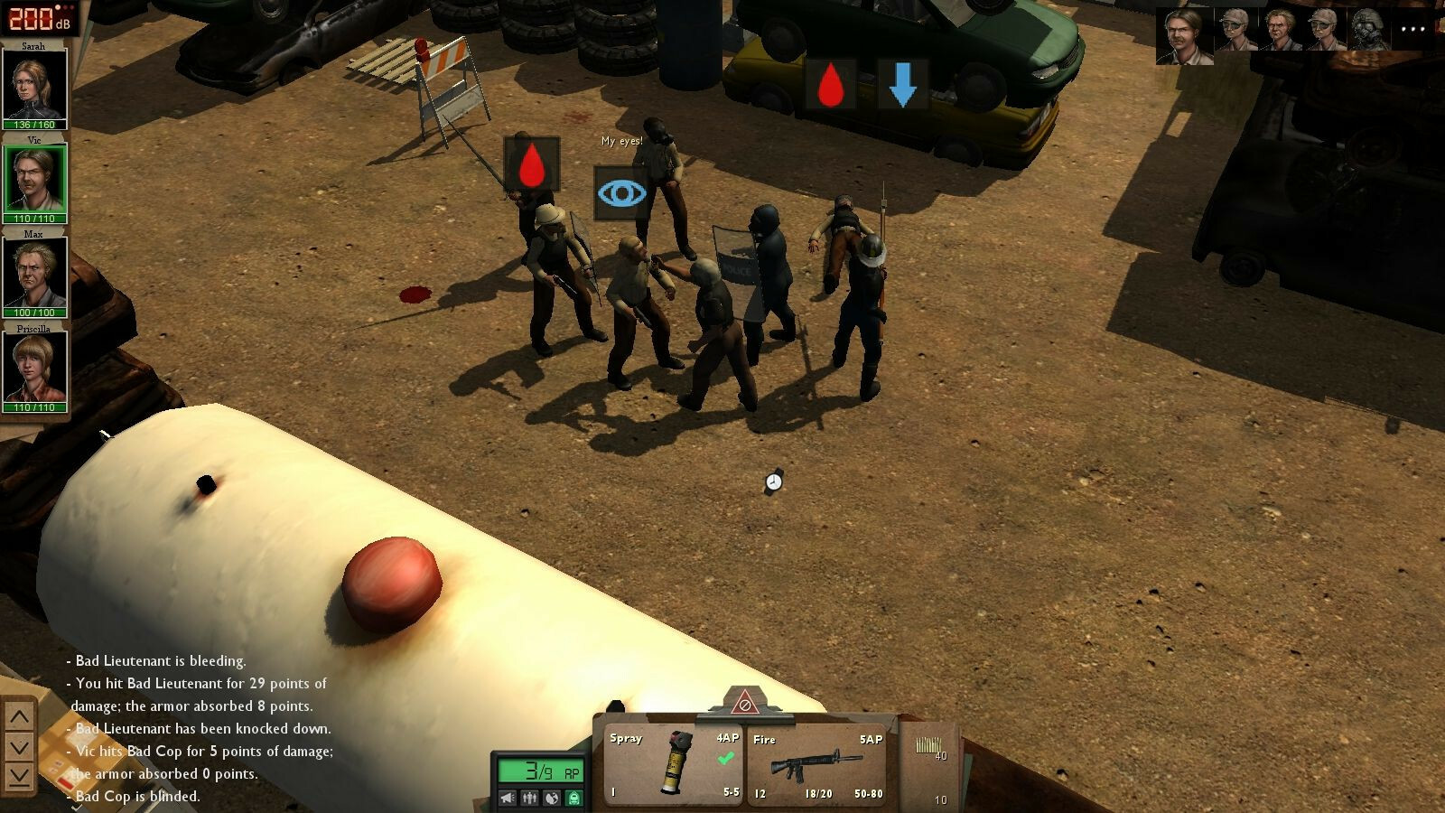 Dead State: Reanimated screenshot 1