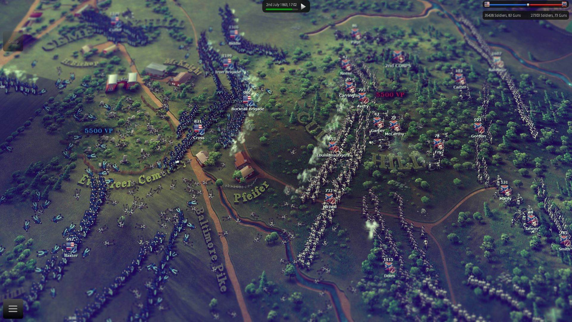 Ultimate General: Gettysburg screenshot 3