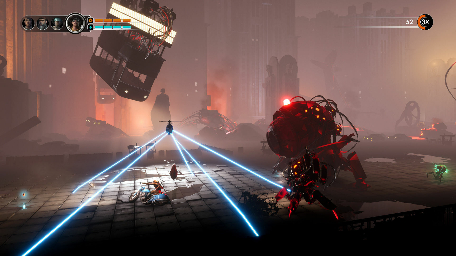 Steel Rats screenshot 2