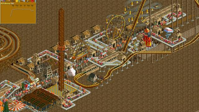 how to add train carts theme park tycoon 2