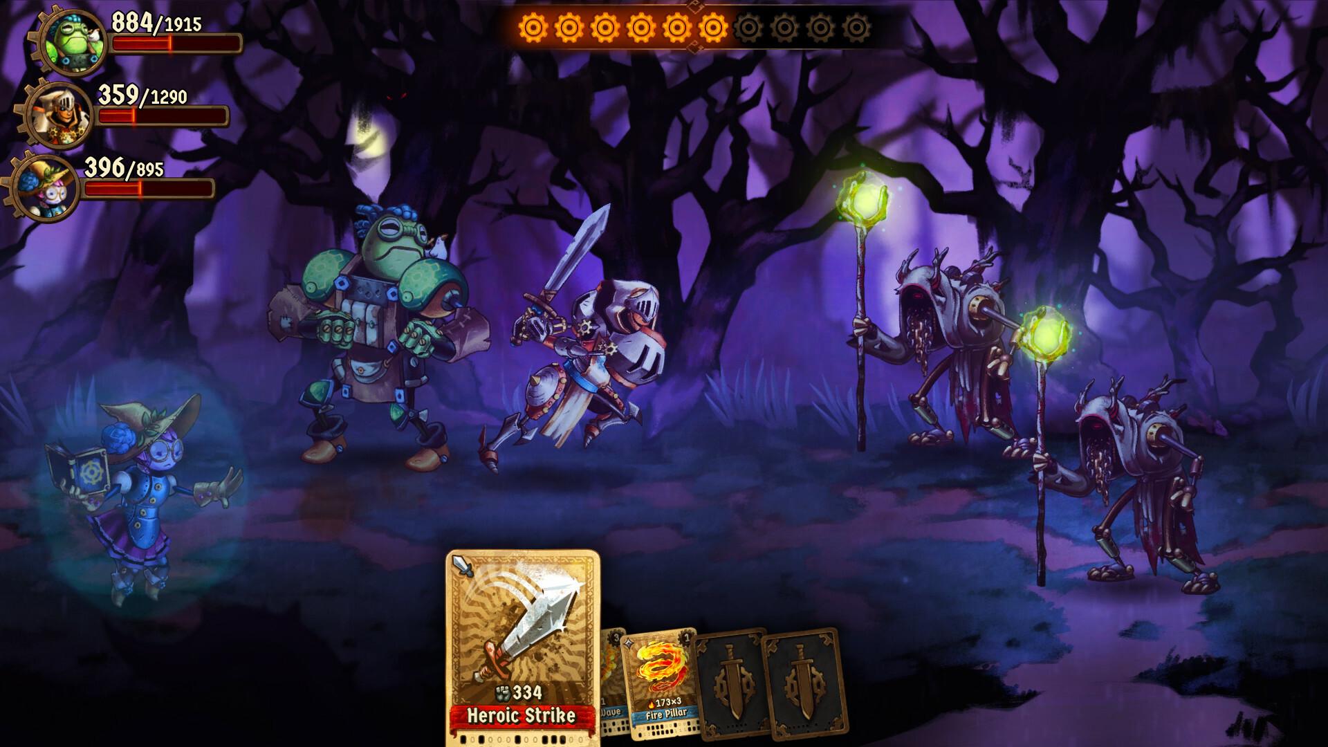 SteamWorld Quest: Hand of Gilgamech screenshot 3