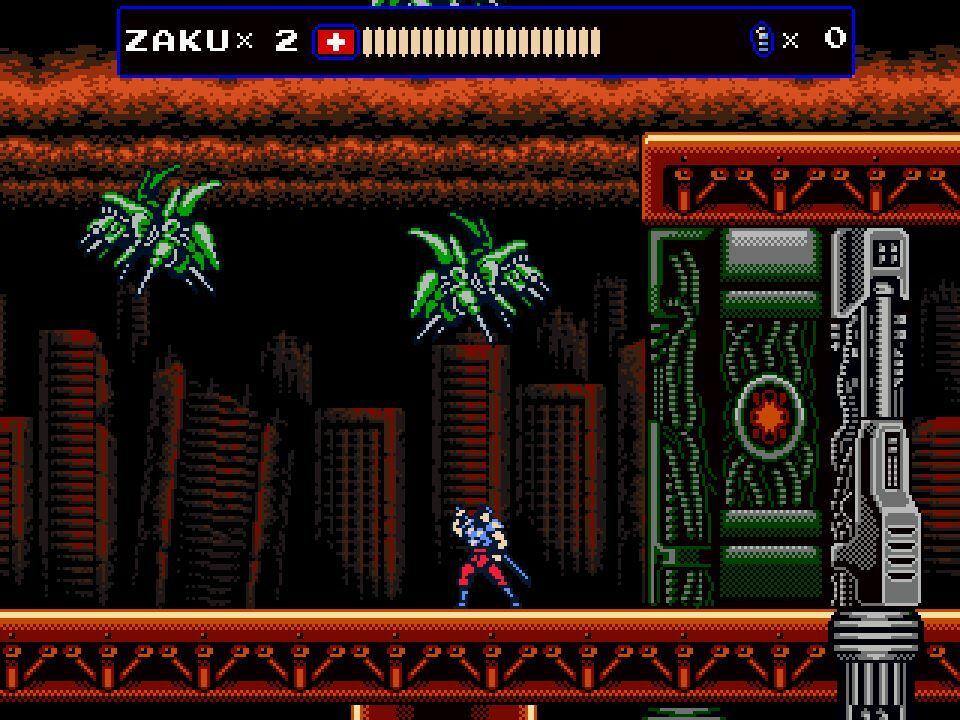 Oniken screenshot 3