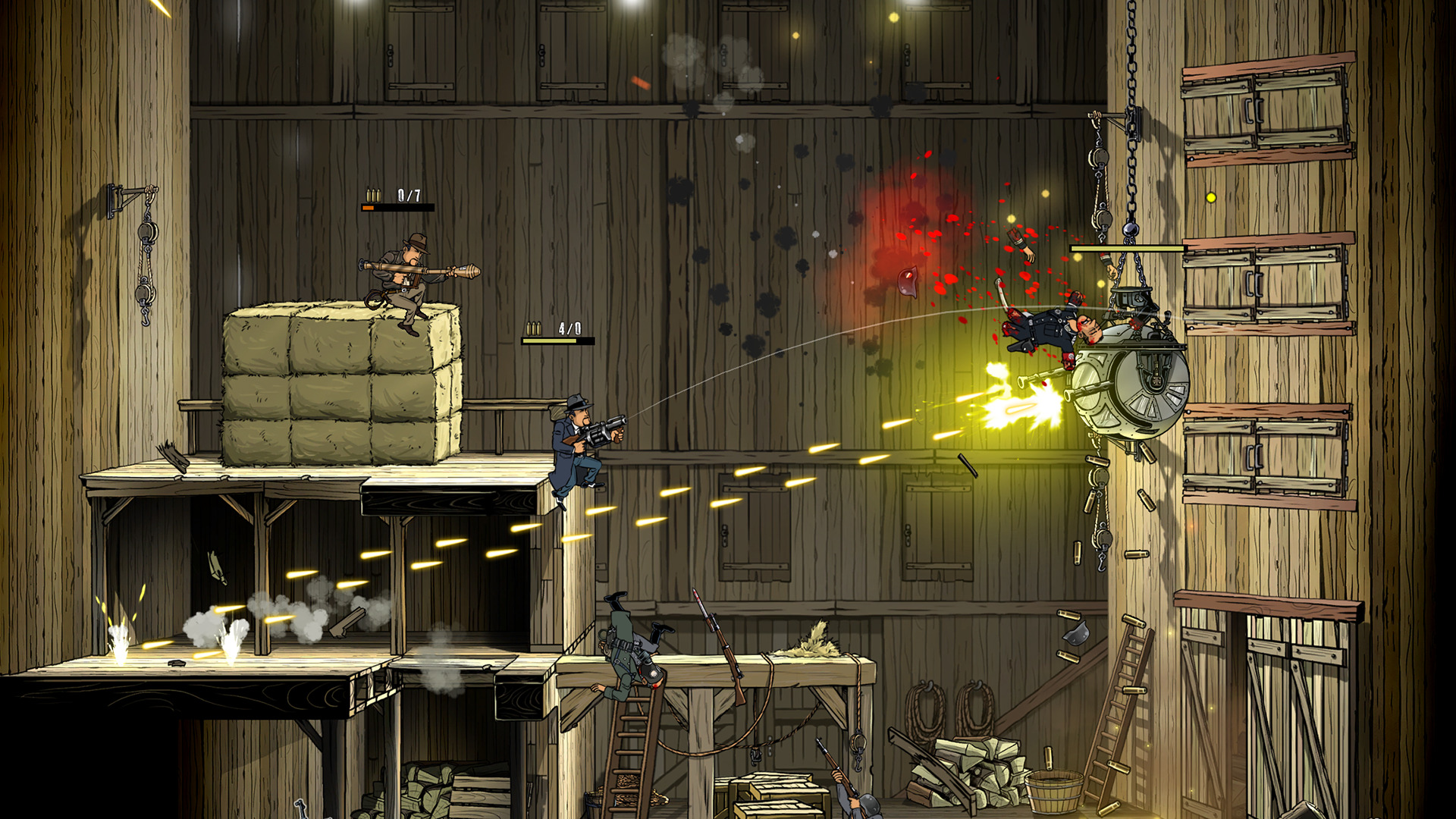 Guns, Gore & Cannoli 2 screenshot 3