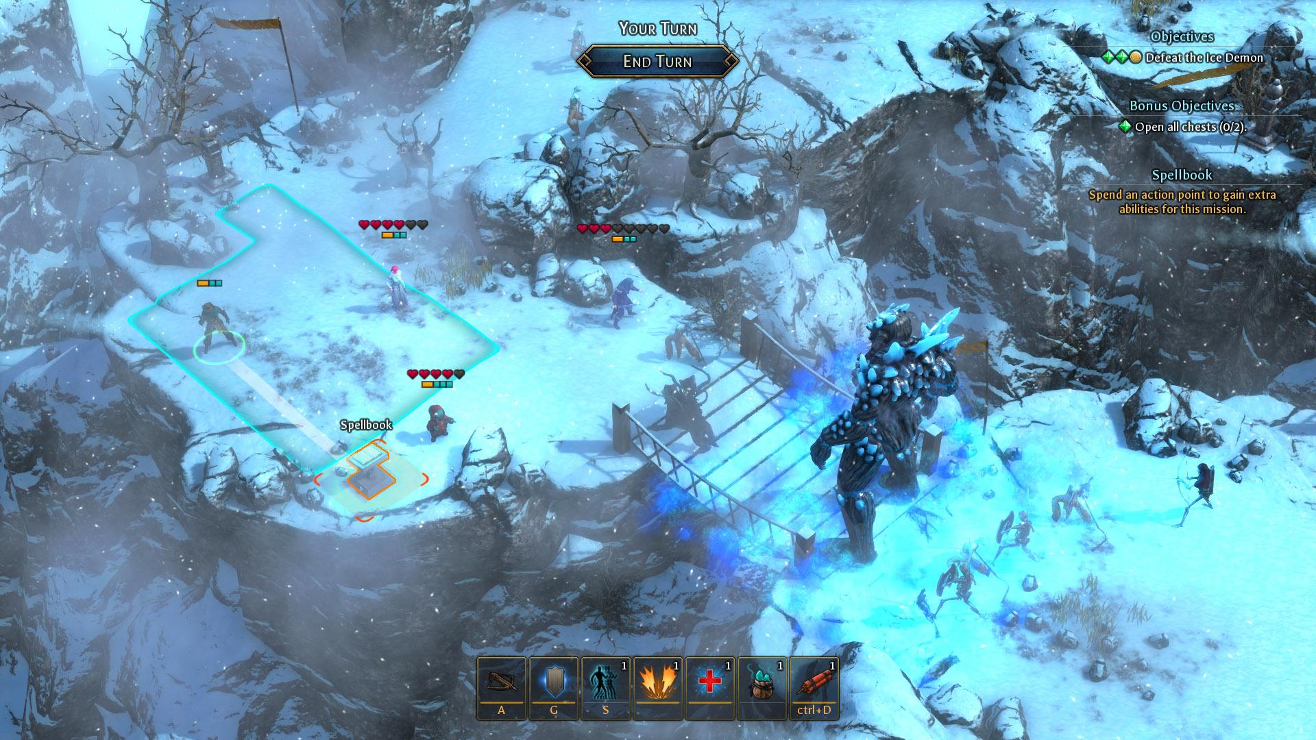 Druidstone: The Secret of the Menhir Forest screenshot 2