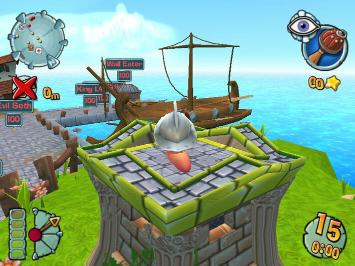 Worms Forts: Under Siege screenshot 3