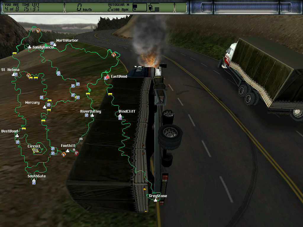 Hard Truck 2: King of the Road screenshot 2