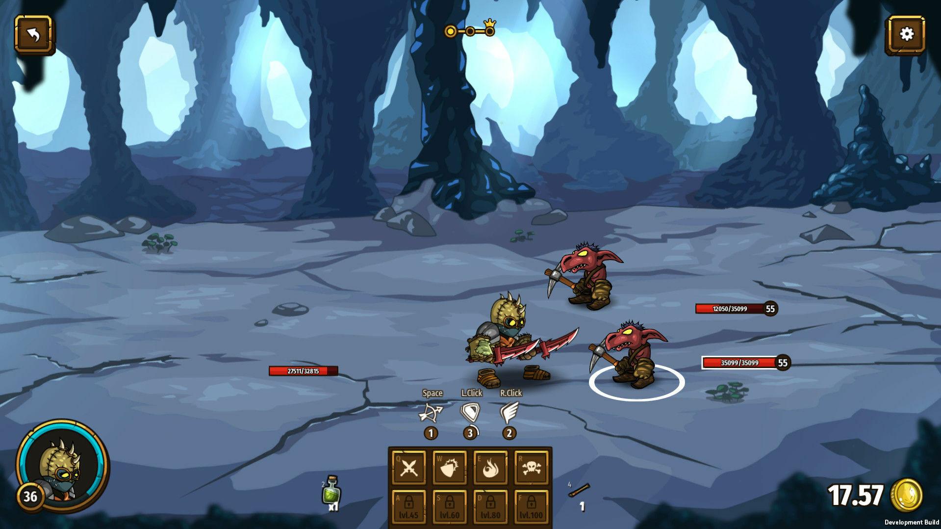 Swords & Souls: Neverseen screenshot 2