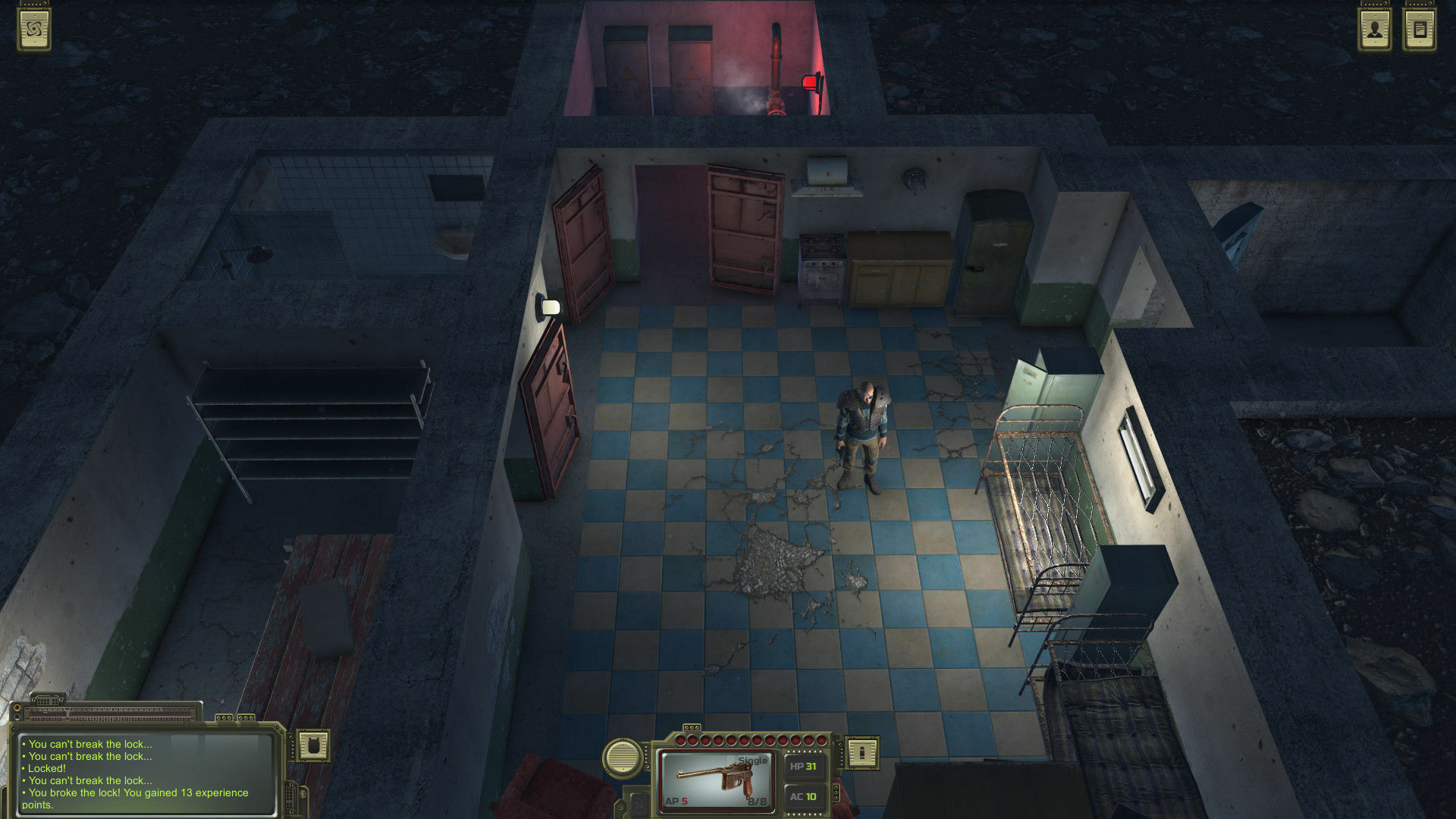 ATOM RPG: Post-apocalyptic indie game screenshot 2